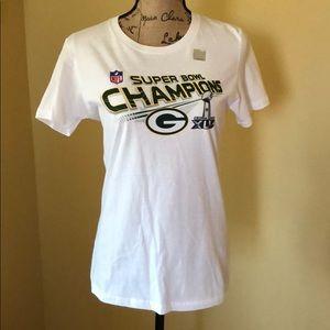 Green Bay Packers Super Bowl Champion shirt